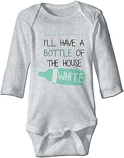 Dezzert030 Tutina per Neonato Manica Lunga Harley Skull Body Cotton Toddler Pagliaccetto Completi per Bambina