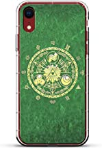 ZELDA INSPIRED | Luxendary Air Series Clear Silicone Case with 3D printed design and Air-Pocket Cushion Bumper for iPhone XR (new 2018/2019 model with 6.1