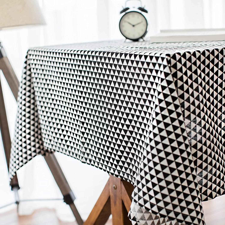Einfache WFLJL Stil Leinen Tischdecke Tischdecke Tuch abdecken Dreieck 140  140 cm