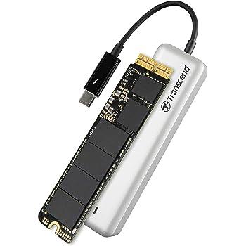 TRANSCEND JetDrive 825 Disco Duro Interno SSD con Thunderbolt ...