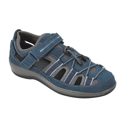 Orthofeet Proven Pain Relief Plantar Fasciitis Orthopedic Comfortable  Diabetic Flat Feet Naples Womens Sandal ac9c26b03c1
