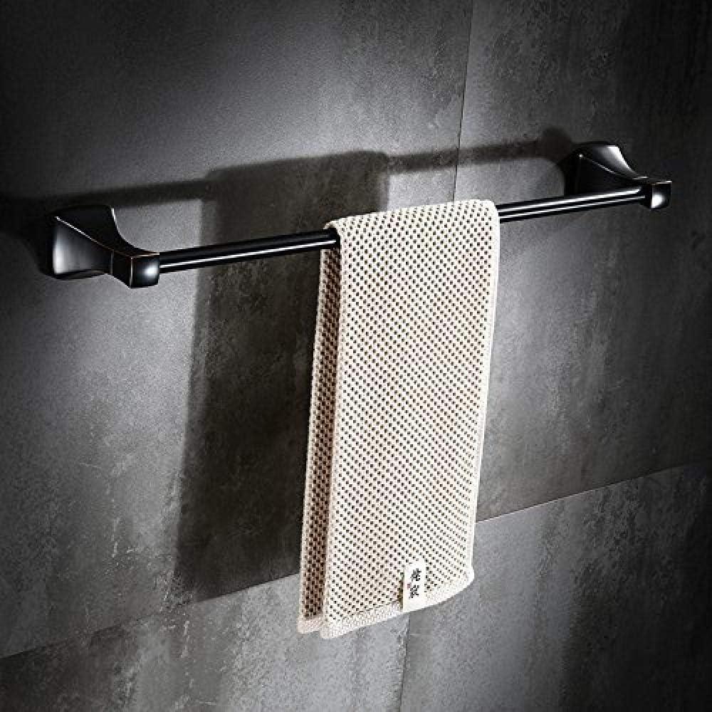SH-CHEN Luxury Towel Shelf 70% OFF Outlet Bathroom Shelves Hanger Racks bar Black