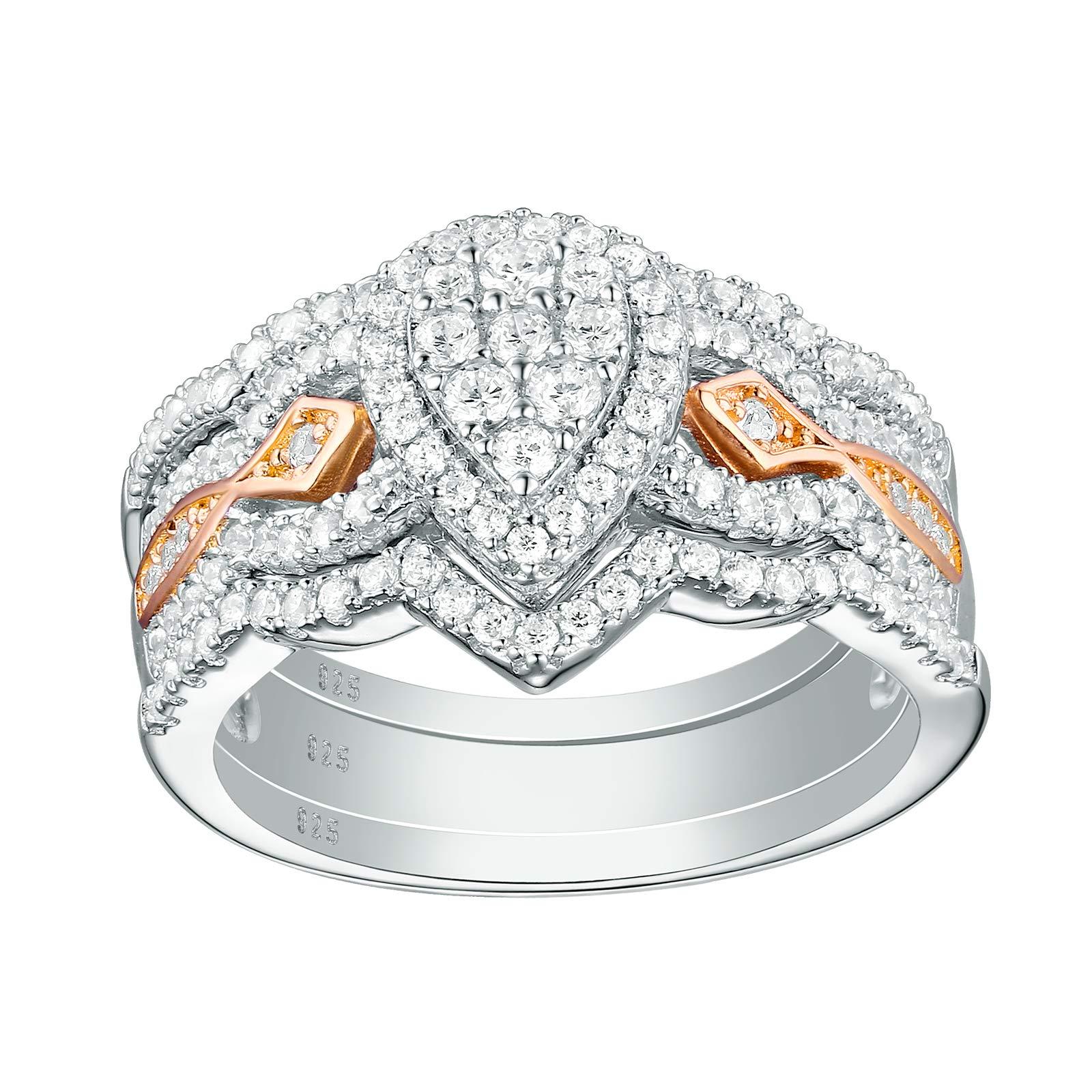 Newshe Bridal Engagement Wedding Sterling