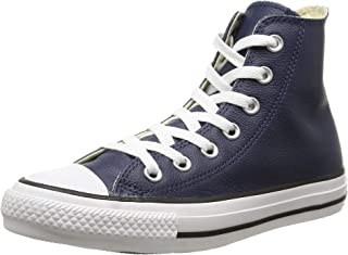 Women's Chuck Taylor All Star Leather High Top Sneaker Unisex