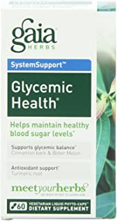Gaia Herbs Glycemic Health Liquid Phyto-Capsules, 60 Count