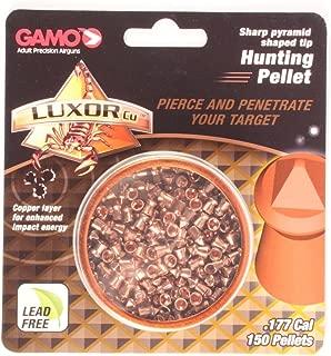 Gamo Luxor Cu Sharp Pyramid Shaped .177 Caliber Hunting Pellet