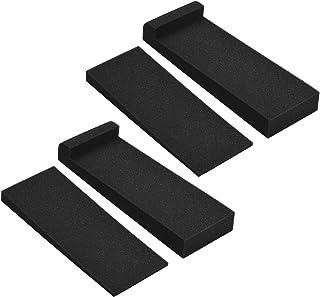 Moniel 2 pacotes de almofadas de isolamento acústico de espuma de alta densidade 27 * 10 cm Área utilizável para alto-fala...