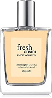 Philosophy Fresh Cream Warm Cashmere EAU DE Toilette 2 oz