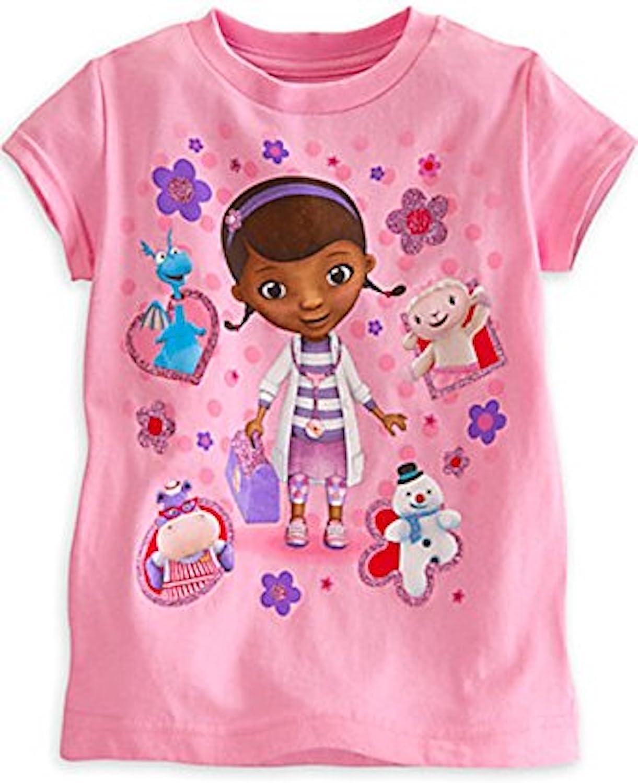 Disney Store Doc Mcstuffins Girl Short Sleeve T Shirt