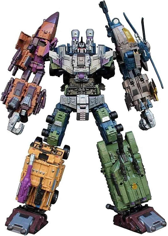 XXWBD 25% Max 62% OFF OFF Transformer Toys 5in1 Transformation To Bruticus G1 Figure