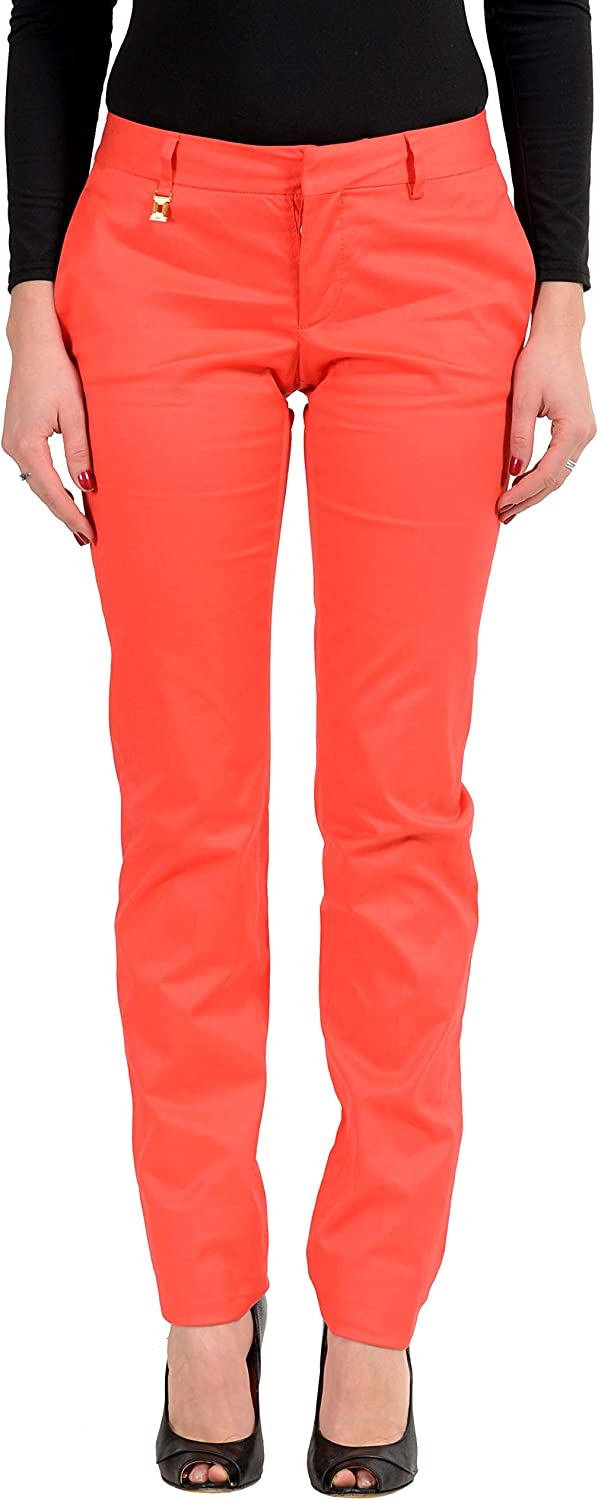 DSQUARED2 Women's Red Casual Pants US 4 IT 40