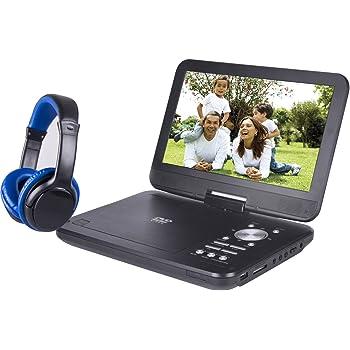 Onn ONA17AV048 10 inches Portable DVD Player w/ Headphones (Renewed)
