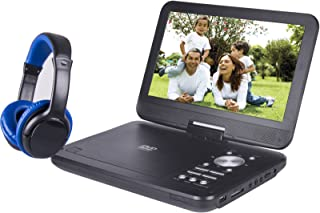 Onn ONA17AV048 10 inches Portable DVD Player w/ Headphones (Renewed)