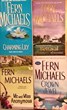 Fern Michaels (4 Book Set) Crown Jewel - Betrayal - Mr and Miss Anonymous - Charming Lily