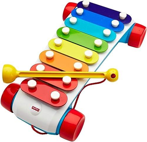 Fisher-Price Xilófono Clásico Juguete para bebés que desarrolla sentidos habilidad motriz y creatividad musical Para ...