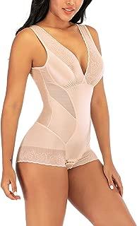 Body Shaper for Women Tummy Control Shapewear Plus Size Seamless Bodysuit