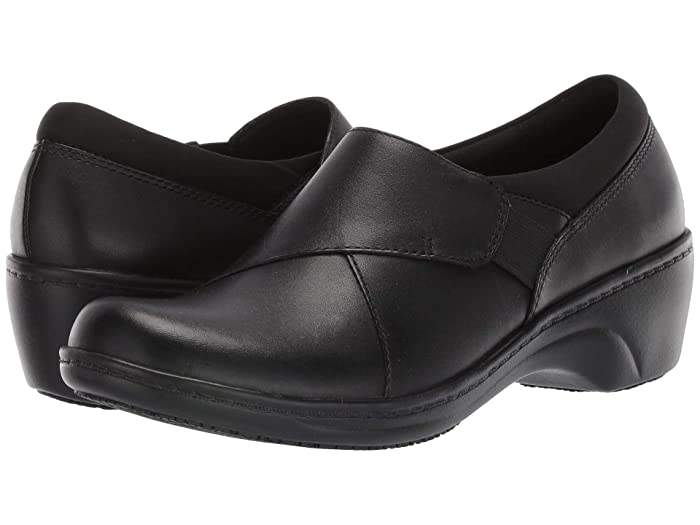 Clarks  Grasp High (Black Leather) Womens Flat Shoes