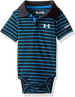 Under Armour Baby-Boys Newborn Polo Yarn Dye. Bodysuit