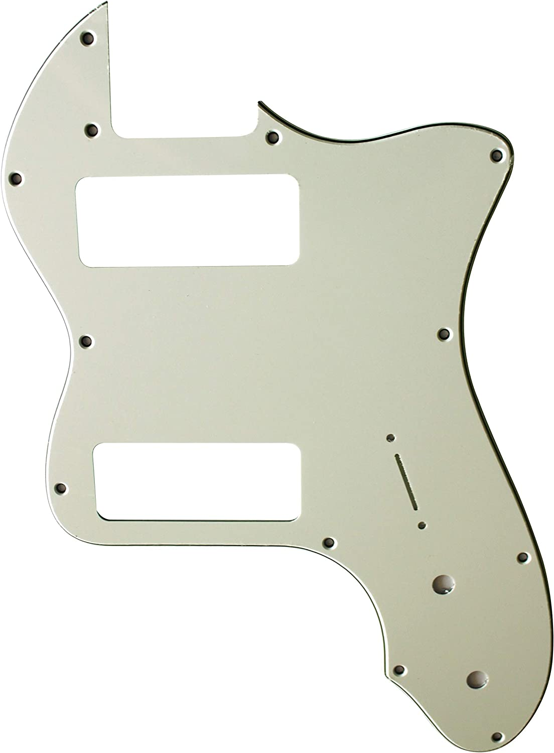 Custom Guitar Pickguard Now on sale For Fender 72 P90 M Thinline Tele 3 Ply Spring new work one after another