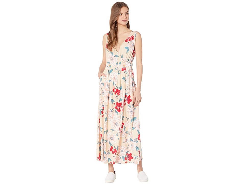 Roxy In the Mood for Dance Woven Dress (Ivory Cream New Flowers) Women