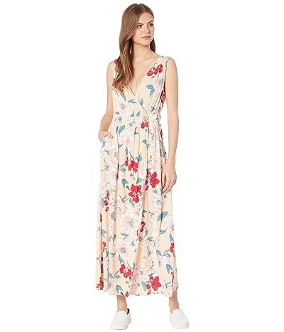 Roxy In the Mood for Dance Woven Dress (Ivory Cream New Flowers) Women