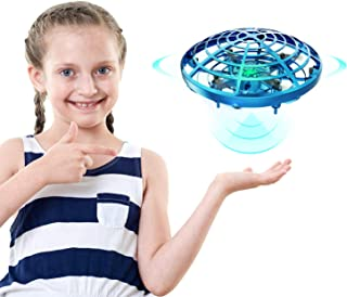 DEERC Drone for Kids Toys Hand Operated Mini Drone UFO Flying Ball Toy Gifts for Boys and Girls Motion Sensor Helicopter Outdoor and Indoor