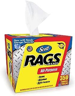 Scott Shop Rags In A Box (350 Sheets)