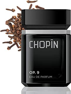 Chopin Op.9 Perfume For Men Eau De Parfum Natural Expressive Night Scent With Strong, Romantic Presence Mens Fragrance With Bergamot, Cloves, Cedar And Tobacco Original Spray Edt Pour Homme - 3.4 Oz