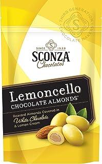 Sconza Lemoncello Almonds, 5.0-Ounce