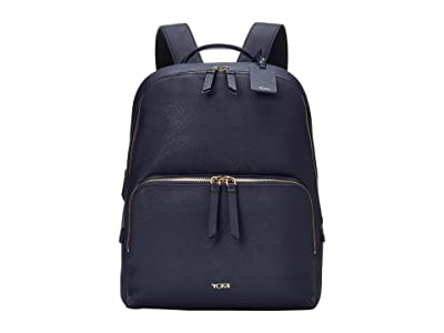 Tumi Varek Hudson Backpack (Navy) Backpack Bags