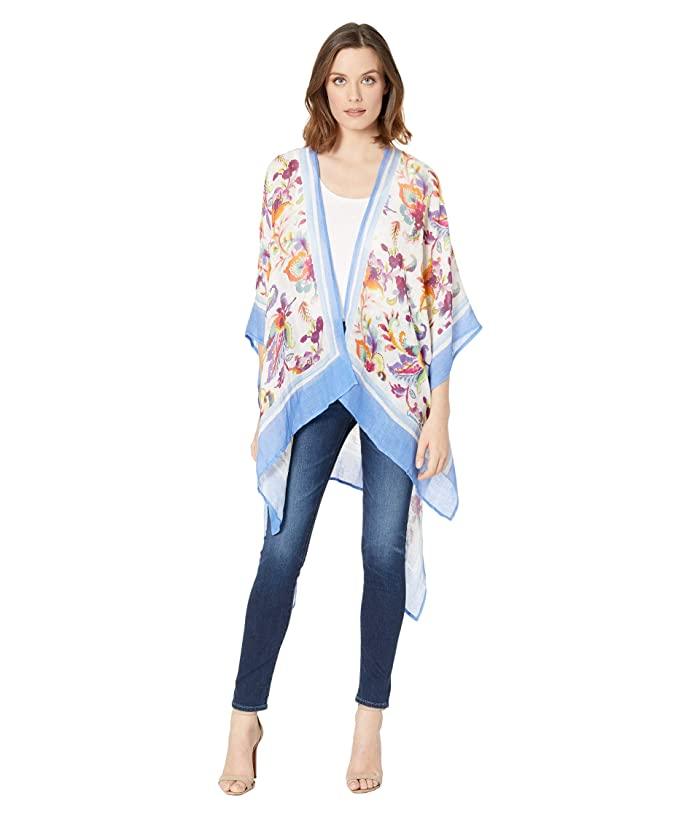 LAUREN Ralph Lauren  Floral Ruana (Multi) Womens Clothing