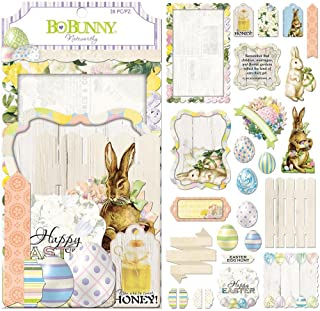 Bo Bunny 7310109 Embellishments, Multicolor