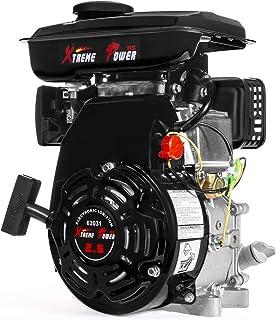 XtremepowerUS 2.5HP 4-Stroke Gas Engine OHV Horizontal Shaft (79.5cc) Replacement Motor Go Kart Mini Bike Engine EPA Motor