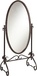 Linon Clarisse Metal Mirror