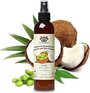 Gerrard Larriett Aromatherapy Pet Care Vitamin & Essential Oil Sunscreen and Skin Conditioner for Dogs - 8 FL OZ (236 mL)