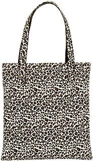 Everpert Shopping Women'S Handbag Leather Leopard Print Women Ladies Shopping Totes Shoulder Handbag