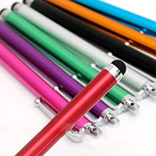 [10 Pack] MEZON Premium Universal Capacitive Touch Screen Stylus Pens – Vibrant Colours, Lightweight Design, Convenient Si...