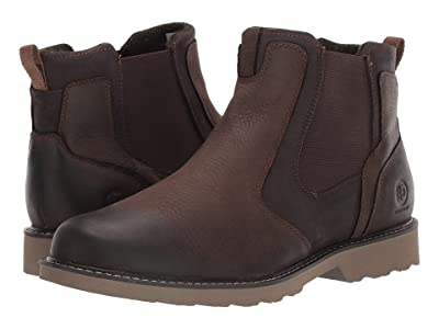 Dunham Jake Waterproof Chelsea (Dark Brown) Men