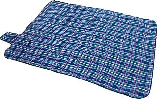 ZDTXKJ Outdoor Picnic Blanket Water-Resistant Plaid Oxford Beach Blanket