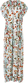Boho Bird Womens Maxi Dresses Sunny Afternoon Button Up Maxi Dress Fleurstrip