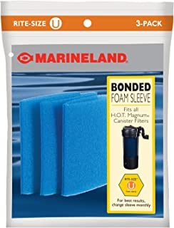 MarineLand Rite-Size U Bonded Foam Sleeve for HOT Magnum Filter