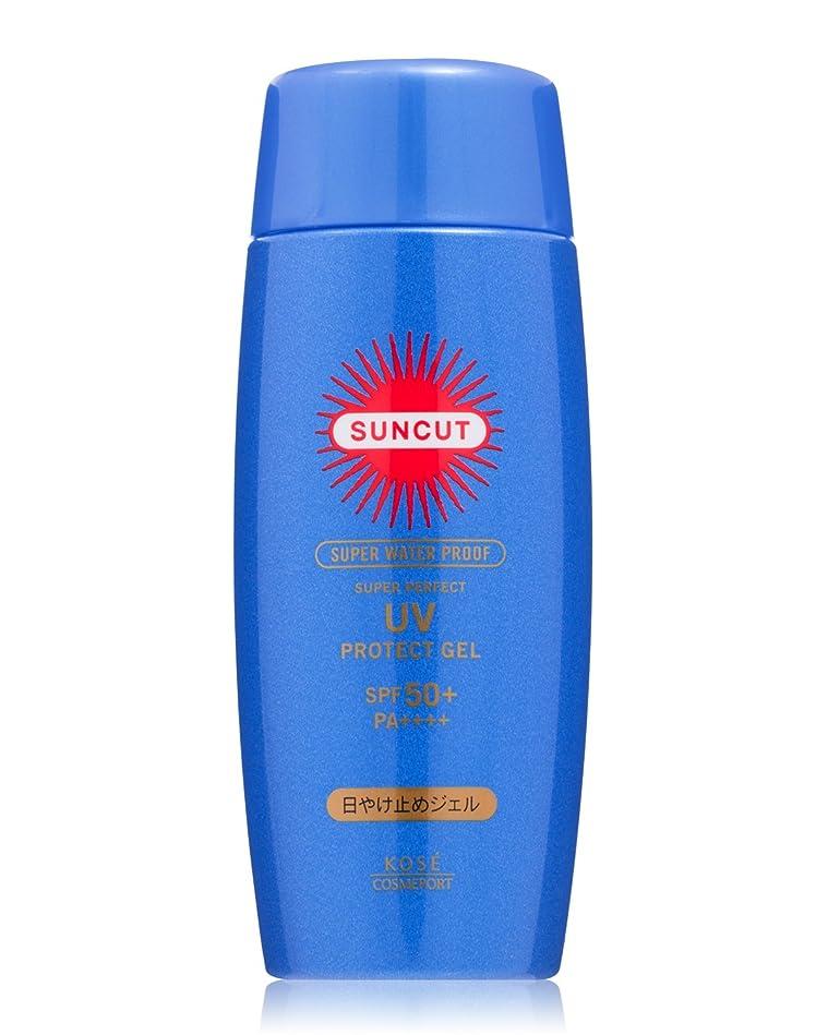 特性干渉する効果的にKOSE コーセー サンカット 日焼け止め ジェル 50 スーパー ウォータープルーフ 80g SPF50+ PA++++