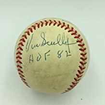Rare Vin Scully Hall Of Fame 1982 Signed National League Baseball With JSA COA