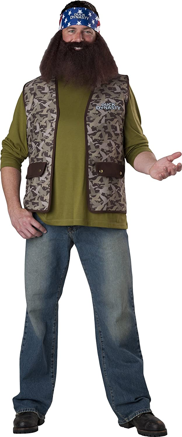 Fun World InCharacter Costumes Duck Dynasty Willie Costume