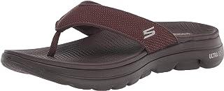 Skechers Men's GOwalk 5 Performance Walking Flip-Flop Sandal