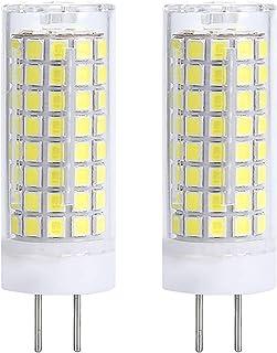 XXZ Bombillas LED G4 de 10W, Equivalente a Bombilla Halógena de 100W, 1000lm Lámpara LED G4, Regulable, Ángulo de Haz de 360 °, Paquete de 2,Cool White 6000k
