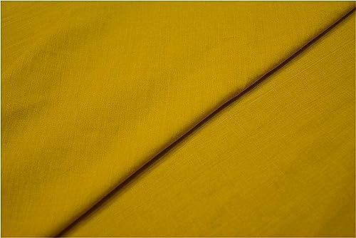 Mustard Cotton Yellow Mulmul Voile Fabric by Yard Meter 100 Pure Soft Cotton malmal Dress Materials Plain Mulmul Quilting Fabrics