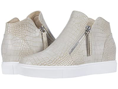 Steve Madden Caliber Wedge Sneaker (Taupe Croco) Women