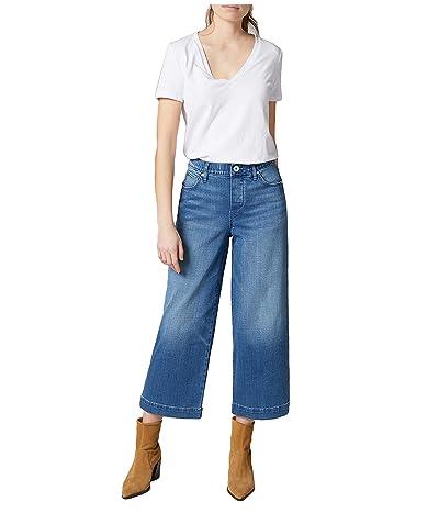 Jag Jeans Ava Wide Leg Crop Jeans (Gramercy) Women