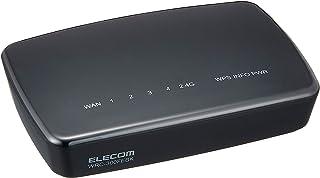 エレコム WiFi 無線LAN 中継器 11n/g/b 300Mbps ACアダプタ接続モデル WRC-300FEBK-R